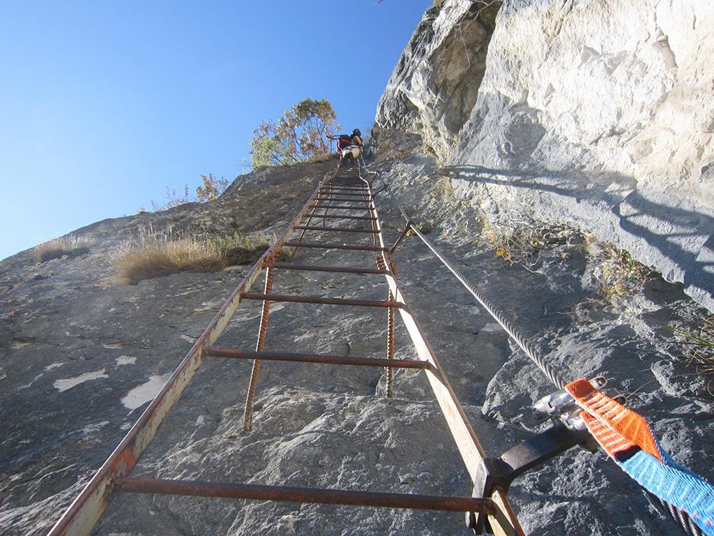 Der Klettersteig Amicizia am Gardasee